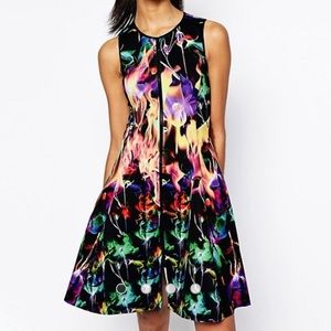 Clover Canyon Flamenco Fire Dress